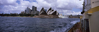 Buildings At The Waterfront, Sydney Poster by Panoramic Images
