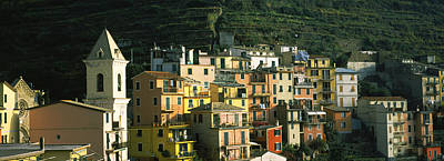 Buildings In A City, Manarola, Cinque Poster by Panoramic Images