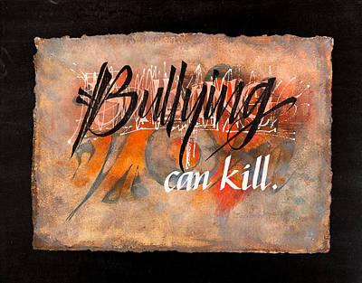 Bullying Can Kill Poster