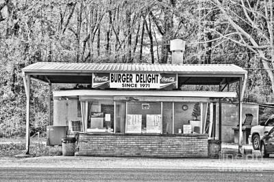 Burger Delight Poster by Scott Pellegrin