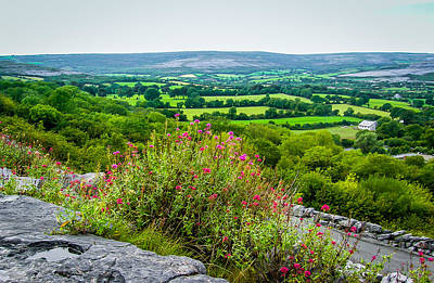 Burren National Park's Lovely Vistas Poster