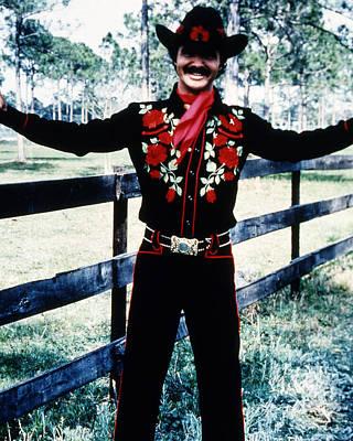 Burt Reynolds In Smokey And The Bandit  Poster