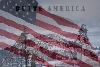 Butte America Poster