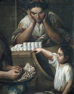 Cabrera, Miguel 1695-1768. De Castizo Y Poster