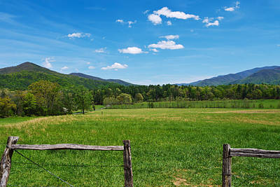 Cades Cove Poster by Melinda Fawver