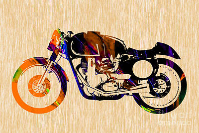Cafe Racer Poster by Marvin Blaine