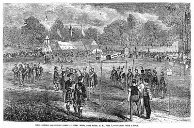 Caledonian Games, 1867 Poster by Granger