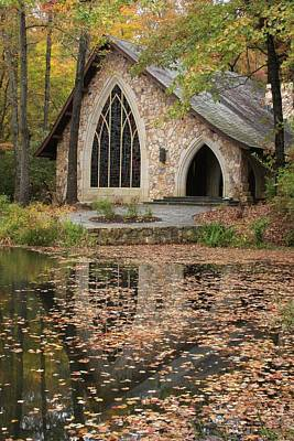Poster featuring the photograph Callaway Gardens Chapel-pine Mountain Georgia by Mountains to the Sea Photo