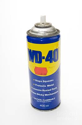 Can Of Wd-40 Oil Poster by PhotoStock-Israel