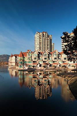 Canada, British Columbia, Okanagan Poster by Walter Bibikow
