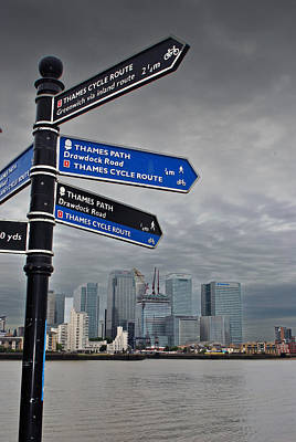 Canary Wharf City Of London   Poster