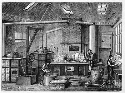 Canning Kitchen, 19th Century Poster