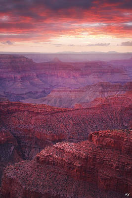 Canyon Of The West Poster by Peter Coskun