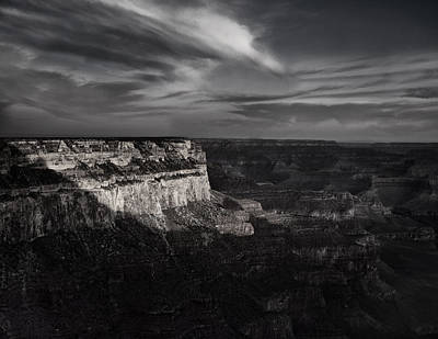 Canyon Shadows Poster by Andrew Soundarajan