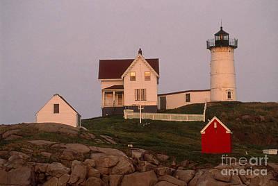 Cape Neddick Lighthouse Poster by Bruce Roberts