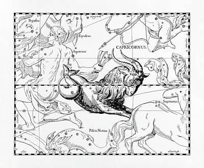 Capricorn Poster by Detlev Van Ravenswaay