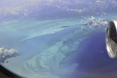 Caribbean Aerial 2 Poster