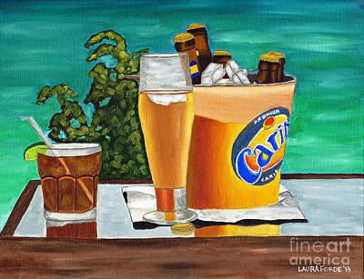 Caribbean Beer Poster