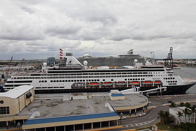 Caribbean Cruise - On Board Ship - 12127 Poster