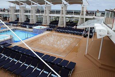 Caribbean Cruise - On Board Ship - 12129 Poster