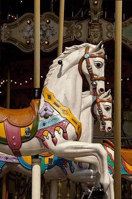 Carousel 1 Poster by Art Ferrier