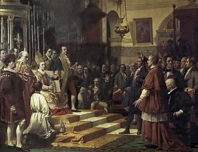Casado Del Alisal, Jos� 1832-1886. The Poster