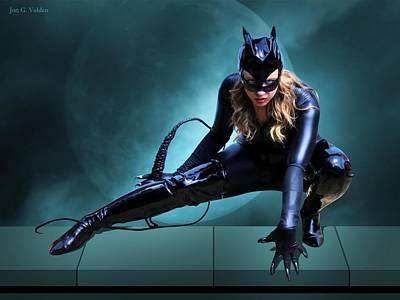 The Feline Fatale Poster