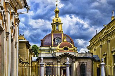 Cathedral Of Saints Peter And Paul - St. Petersburg Russia Poster by Jon Berghoff