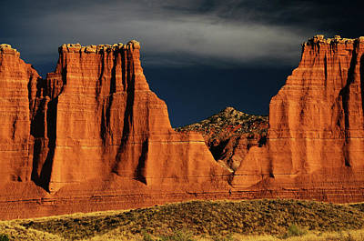 Cathedral Valley, Capitol Reef National Poster by Michel Hersen