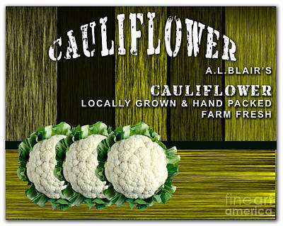 Cauliflower Farm Poster