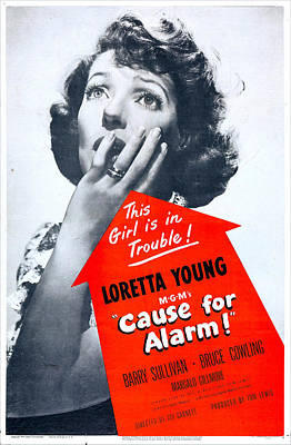Cause For Alarm, Us Poster, Loretta Poster