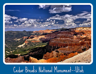 Cedar Breaks Nm Poster