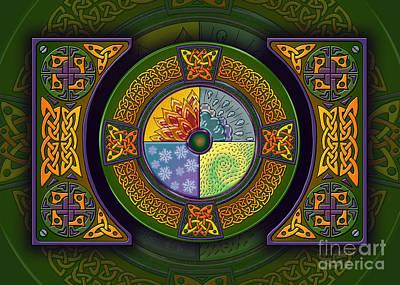 Celtic Elements Poster