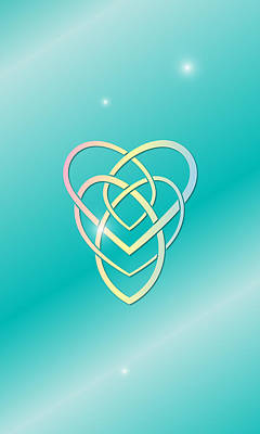 Celtic Motherhood Knot Poster