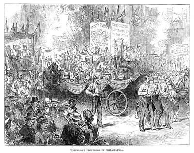 Centennial Parade, 1876 Poster by Granger