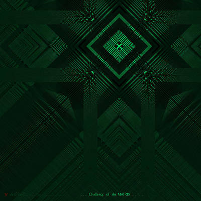 Challenge Of The Matrix  Poster