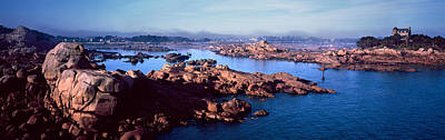 Channel Of Ploumanach Harbour Poster by Panoramic Images