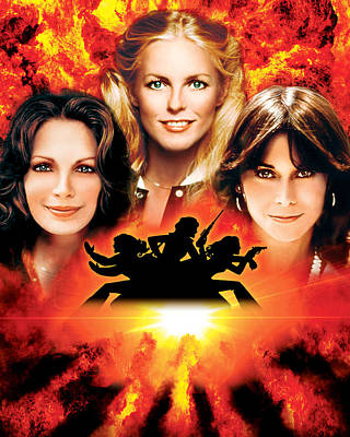 Charlie's Angels  Poster by Silver Screen