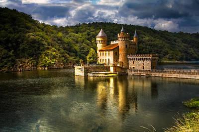 Chateau De La Roche Poster