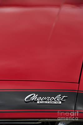 Chevrolet Camaro Poster by Tim Gainey