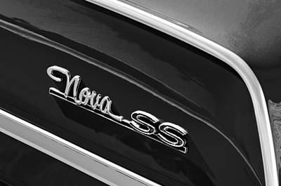 Chevrolet Nova Ss Emblem Poster
