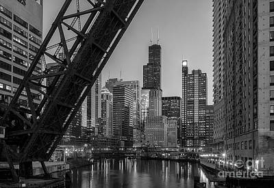 Chicago Loop Poster by Jeff Lewis