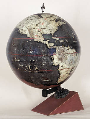 Chinese Terrestrial Globe Poster by British Library
