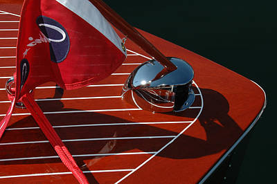 Chris Craft Bow Poster by Steven Lapkin