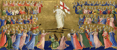 Christ Glorified In The Court Of Heaven Poster by Fra Angelico