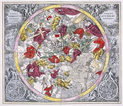 Christianized Constellations, 1708 Poster by Science Photo Library