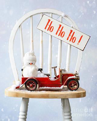 Christmas Poster by Amanda Elwell