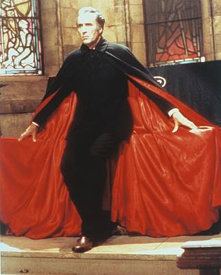 Christopher Lee In Dracula A.d. 1972  Poster by Silver Screen
