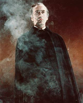 Christopher Lee In Dracula Has Risen From The Grave  Poster by Silver Screen
