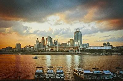 Cincinnati Ohio IIi Poster by Scott Meyer